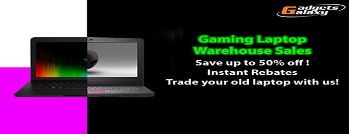Laptop Promotion Banner