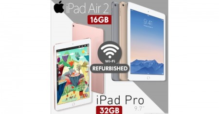 Refurbished iPad Air 2 / iPad Pro 9.7